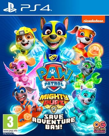 Pat Patrouille Mighty Pups PS4