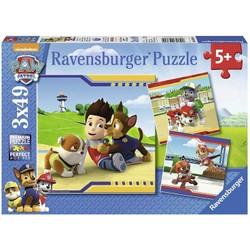 Puzzle 3x49 pièces - La Pat' Patrouille