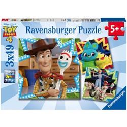 Puzzle 3x49 pièces - Toy Story 4