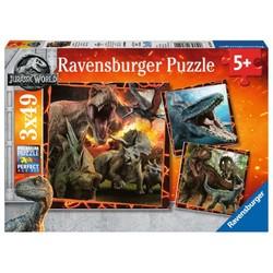 Puzzle 3x49 pièces: Jurassic World: Instinct de chasseur