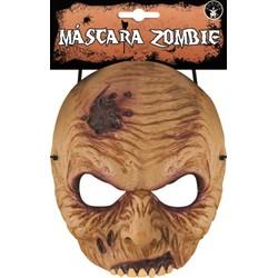 Demi Masque adulte Zombie en latex
