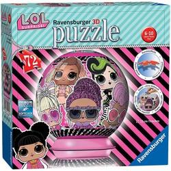 Puzzle 3D Ball 72 pcs - L.O.L Surprise!