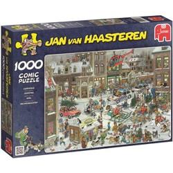 Puzzle 1000 pièces Comic Jan van Haasteren - Noël