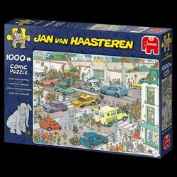 Puzzle 1000 pièces Comic Jan van Haasteren - Jumbo va faire ses courses