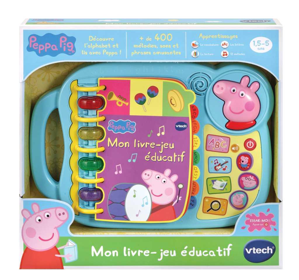 Mon livre-jeu éducatif Peppa Pig