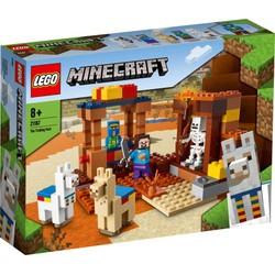 Le comptoir d'échange - LEGO Minecraft - 21167