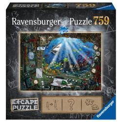 Escape Puzzle - Sous l'eau - 759 pièces