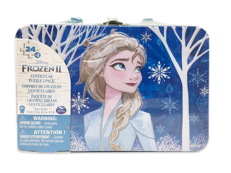 Coffret 2 puzzles 24 pcs La Reine des Neiges 2
