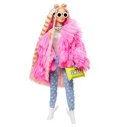 Poupée Barbie Extra - Veste rose à franges