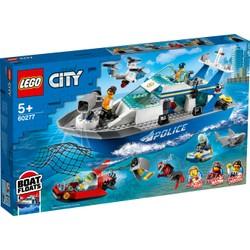Le bateau de patrouille de la police - LEGO City - 60277