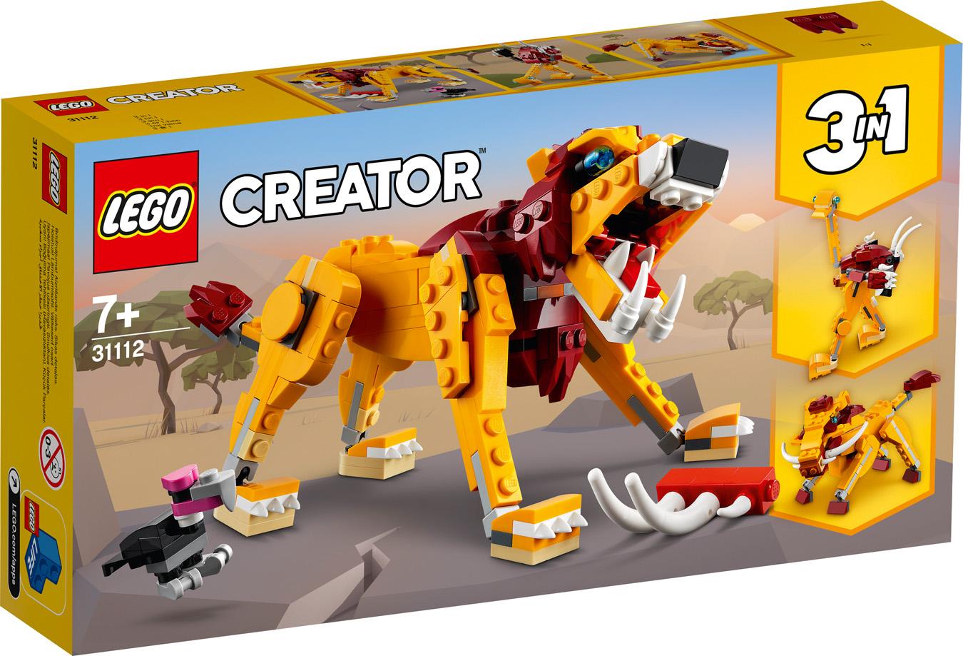 Le lion sauvage - LEGO Creator - 31112