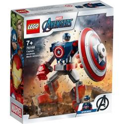 L'armure robot de Captain America - LEGO Avengers - 76168