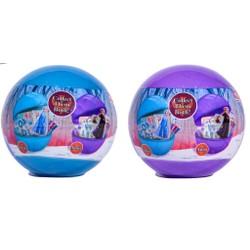 Boule surprise Gomme 3D à décorer - La Reine des Neiges 2
