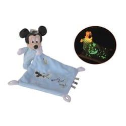 "Doudou luminescent Mickey Mouse ""Hello Star"""