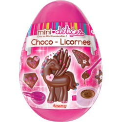 Mini Délices - Oeuf choco-licornes