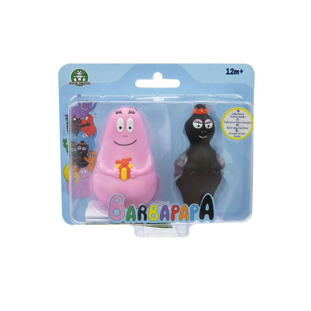 Barbapapa - Blister 2 personnages
