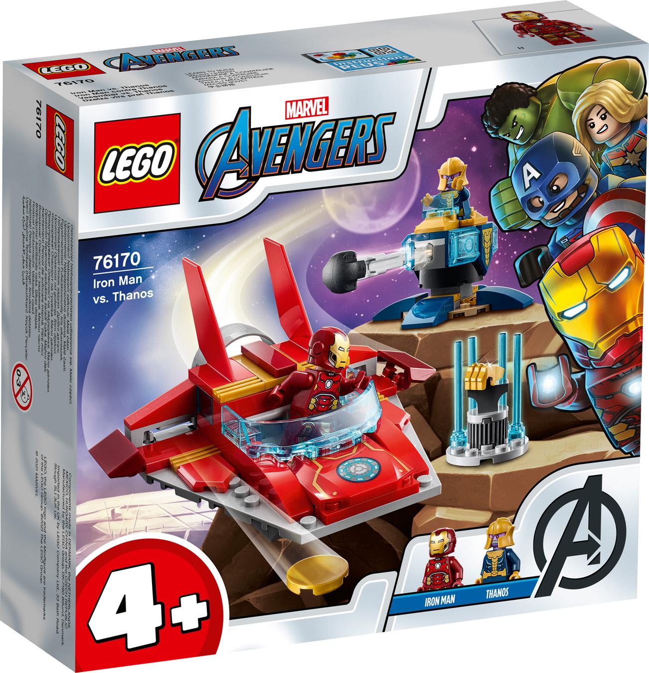 Iron Man contre Thanos - LEGO Avengers - 76170