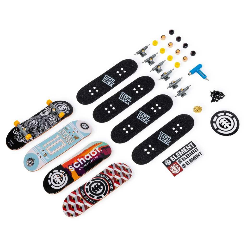 Pack 4 finger skates Tech Deck