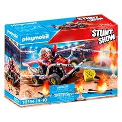 Véhicule et pompier - PLAYMOBIL Stunt Show - 70554