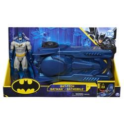 Pack batmobile + figurine Batman 30 cm