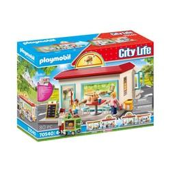 Restaurant de hamburgers - PLAYMOBIL City Life - 70540