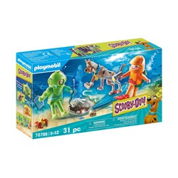 Scooby-Doo avec fantôme du capitaine Cutler - PLAYMOBIL Scooby-Doo! - 70708