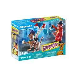 Scooby-Doo avec fantôme du clown  - PLAYMOBIL Scooby-Doo! - 70710