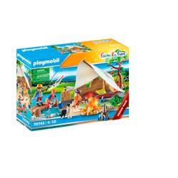 Famille de campeurs - PLAYMOBIL Family Fun - 70743