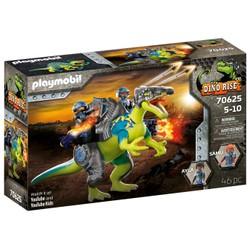 Spinosaure et combattants - PLAYMOBIL Dino Rise - 70625