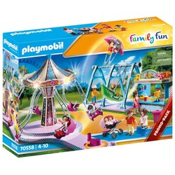Parc d'attractions - PLAYMOBIL Family Fun - 70558
