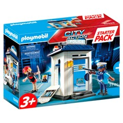 Starter Pack Bureau de police  - PLAYMOBIL City Action - 70498