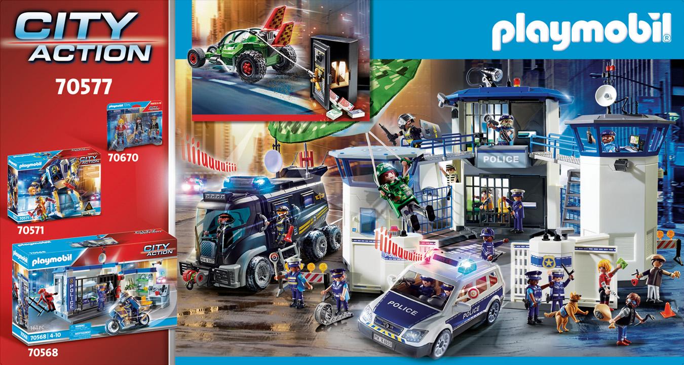 Karts de policier et bandit - PLAYMOBIL City Action - 70577