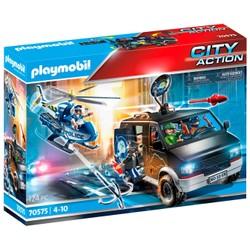 Camion de bandits et policier - PLAYMOBIL City Action - 70575