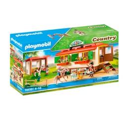 Box de poneys et roulotte - PLAYMOBIL Country - 70510