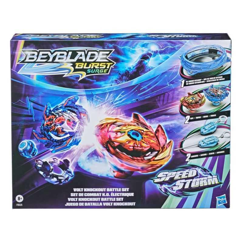 Beyblade Burst Speedstorm Volt Knockout Set de Combat