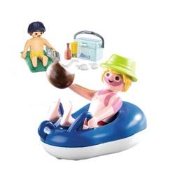 Vacancier avec coups de soleil et bouée - PLAYMOBIL Family Fun - 70112