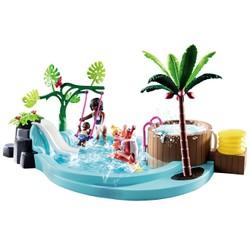 Pataugeoire avec bain à bulles - PLAYMOBIL Family Fun - 70611