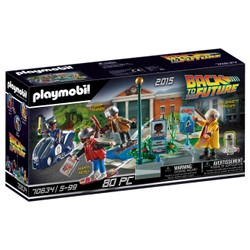 Course d'hoverboard - PLAYMOBIL Back to the Future - 70634