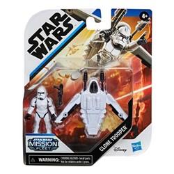 Star Wars Mission Fleet Micro véhicule avec figurine