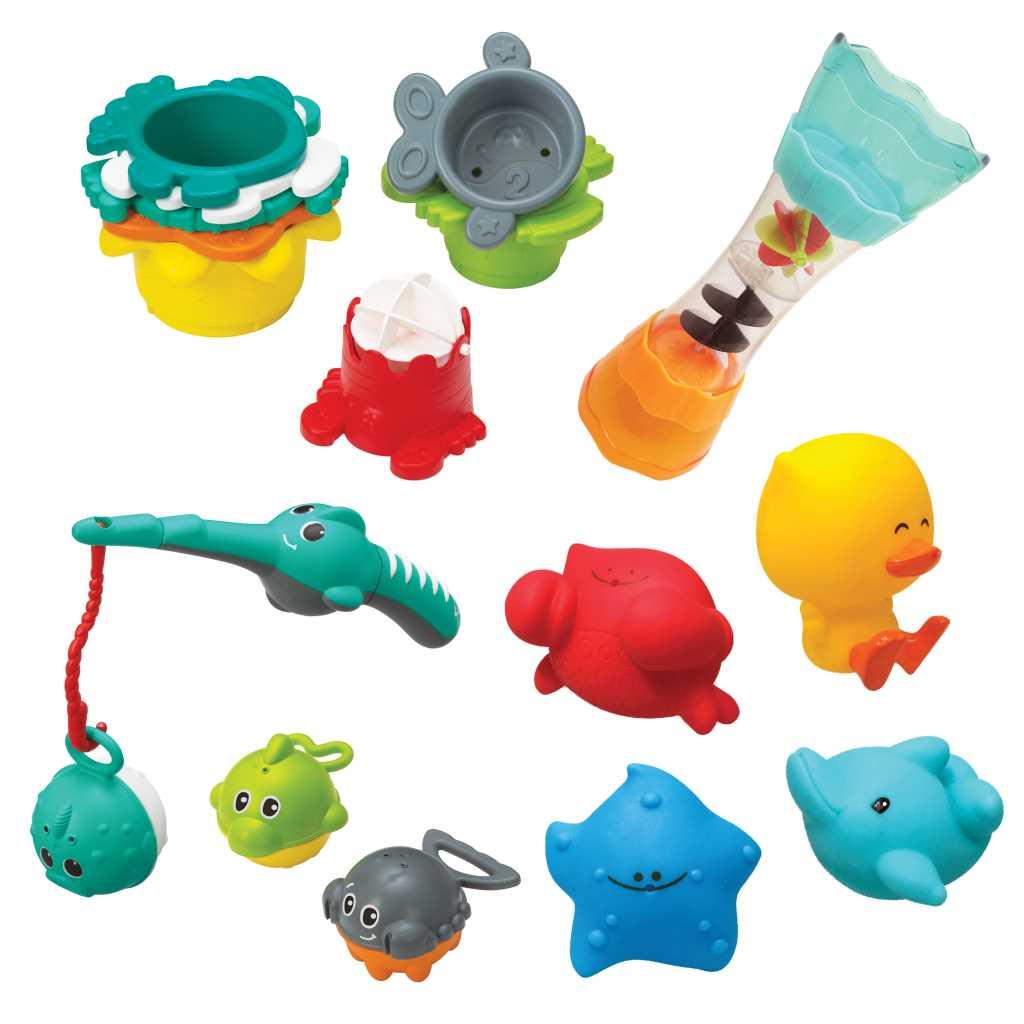 Coffret de bain Plouf & Plaf - 17 pièces