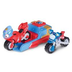 Ricky Zoom - Lanceur Sam Dacier avec  2 véhicules