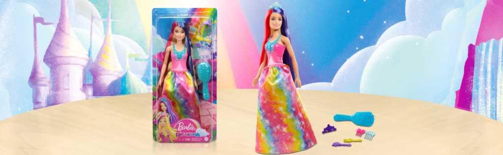 Barbie - Princesse Dreamtopia longue chevelure
