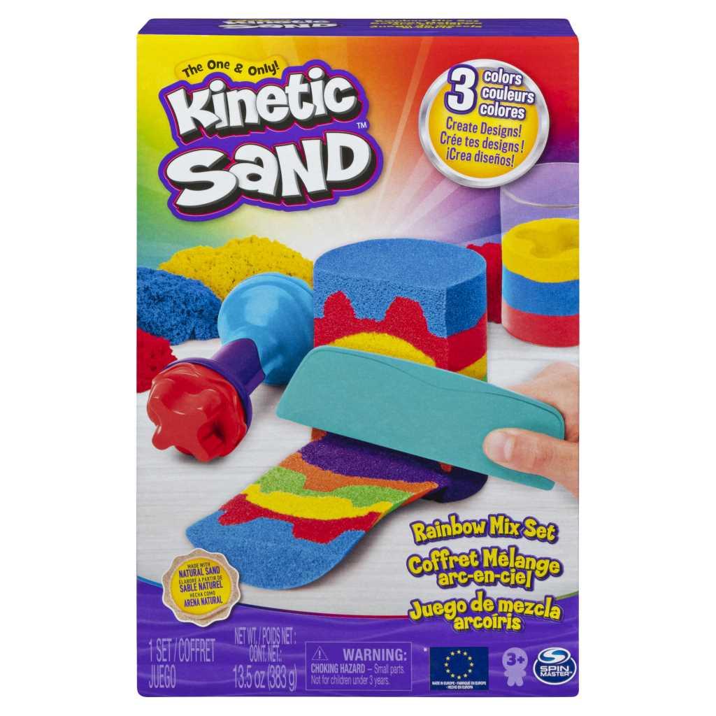 Kinetic Sand - Coffret Mélange Arc-en-ciel