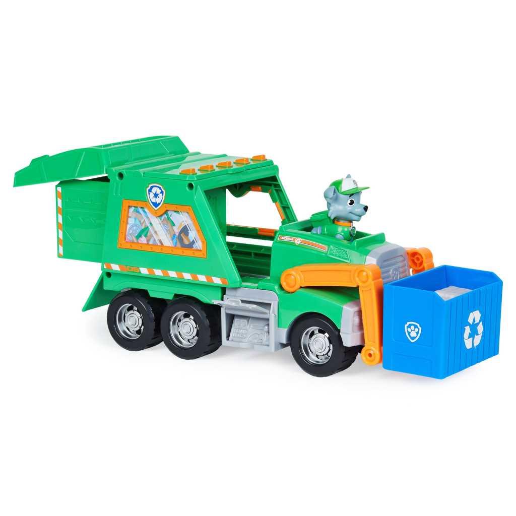 Pat  Patrouille - Camion de recyclage de Rocky