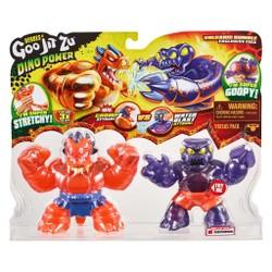 Heroes of Goo Jit Zu - Duo Pack Figurines Dino Power