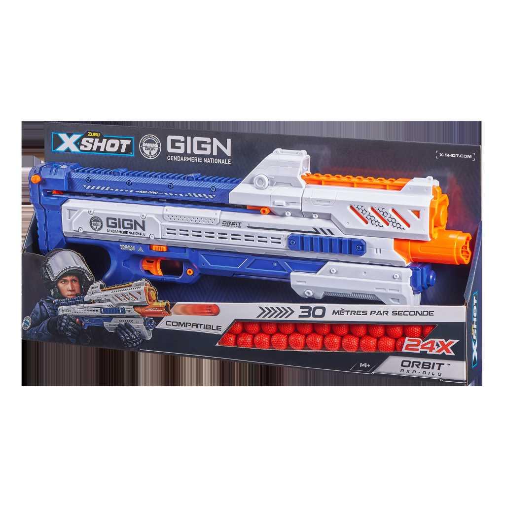 Pistolet X-Shot GIGN