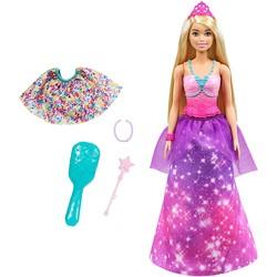 Barbie Dreamtopia - Poupée 2 en 1 Princesse et Sirène