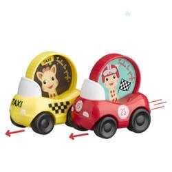 Set de 2 véhicules Sophie la girafe