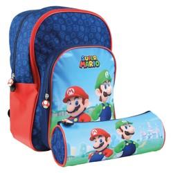 Sac à dos + trousse Super Mario