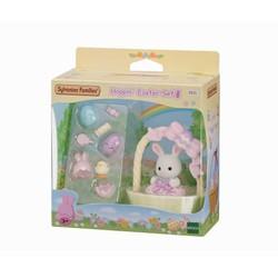 Le coffret de Pâques et bébé lapin blanc -  Sylvanian Families - 5531